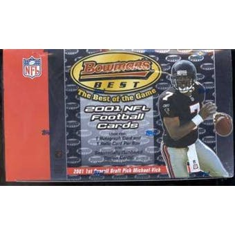 2001 Bowman's Best Football Hobby Box