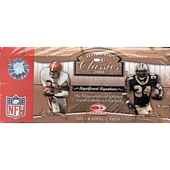 2001 Donruss Classics Football Hobby Box