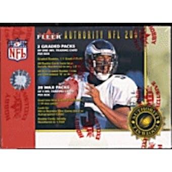 2001 Fleer Authority Football Hobby Box