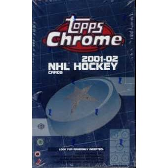 2001/02 Topps Chrome Hockey Hobby Box