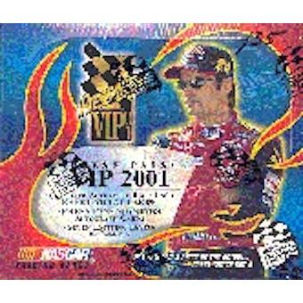 2001 Press Pass VIP Racing Hobby Box