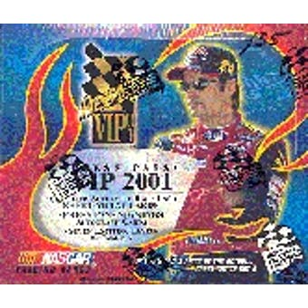 2001 Press Pass VIP Racing Hobby Box