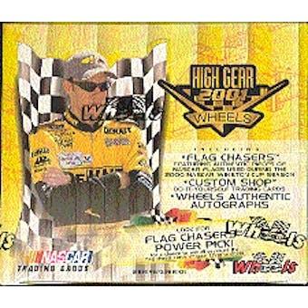 2001 Press Pass Wheels High Gear Racing Hobby Box