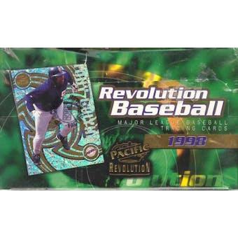 1998 Pacific Revolution Baseball Hobby Box