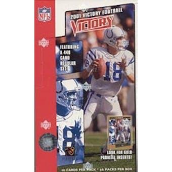 2001 Upper Deck Victory Football Box