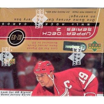 2002/03 Upper Deck Series 2 Hockey 24 Pack Box