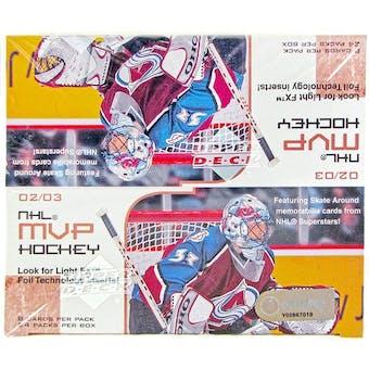 2002/03 Upper Deck MVP Hockey Retail Box