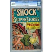 Shock SuspenStories #13 CGC 4.0 (C-OW) *0208526006*