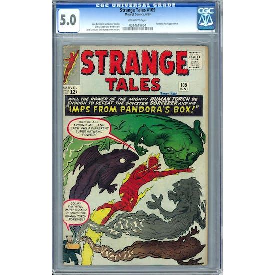 Strange Tales #109 CGC 5.0 (OW) *0214619004*