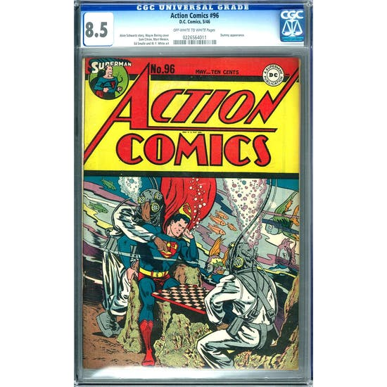Action Comics #96 CGC 8.5 (OW-W) *0226564011*