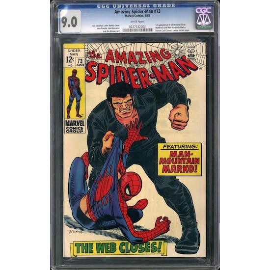 Amazing Spider-Man #73 CGC 9.0 (OW-W) *0227532002*