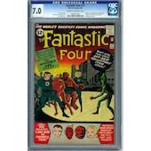 Fantastic Four #11 CGC 7.0 (C-OW) *0228873003*
