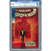 Amazing Spider-Man #50 CGC 8.0 (OW) *0235332003*