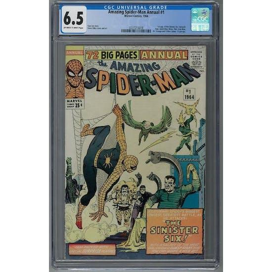 Amazing Spider-Man Annual #1 CGC 6.5 (OW-W) *0237213018* Amazing2020Series1 - (Hit Parade Inventory)