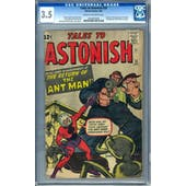 Tales to Astonish #35 CGC 3.5 (C-OW) *0242663005*