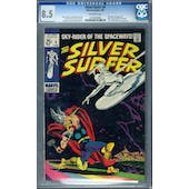 Silver Surfer #4 CGC 8.5 (OW) *0270499006*