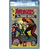 Avengers #22 CGC 8.5 (OW-W) *0270722011*