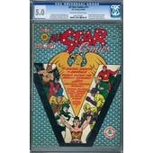 All Star Comics #12 CGC 5.0 (OW-W) *0277275001*