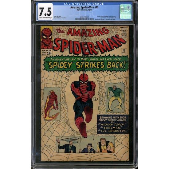 Amazing Spider-Man #19 CGC 7.5 (C-OW) *0283737017*