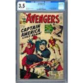 Avengers #4 CGC 3.5 (OW) *0285359002*