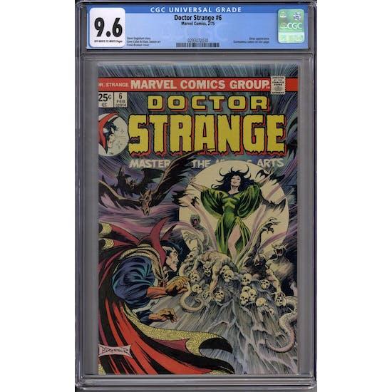 Doctor Strange #6 CGC 9.6 (OW-W) *0293072030*