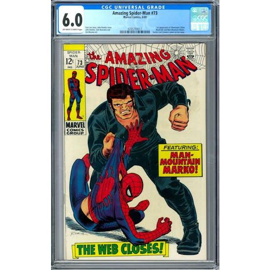 Amazing Spider-Man #73 CGC 6.0 (OW-W) *0295793017*