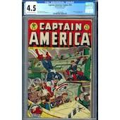 Captain America Comics #45 CGC 4.5 (OW-W) *0296133004*