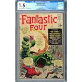 Fantastic Four #1 CGC 1.5 (C-OW) *0297670001*
