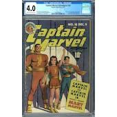 Captain Marvel Adventures #18 CGC 4.0 (C-OW) *0298566005*