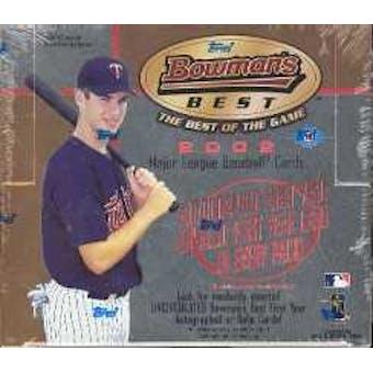 2002 Bowman's Best Baseball Hobby Box