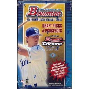 2002 Bowman Draft Picks & Prospects Baseball Hobby Box