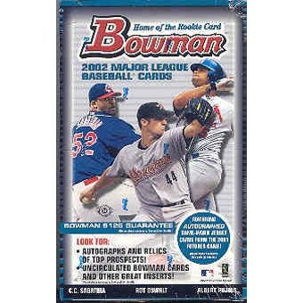 2002 Bowman Baseball Hobby Box