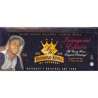 2002 Donruss Diamond Kings Baseball Hobby Box