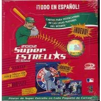 2002 Donruss Super Estrellas Spanish Baseball Hobby Box