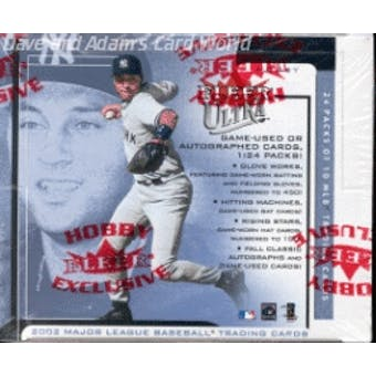 2002 Fleer Ultra Baseball Hobby Box