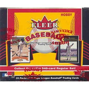 2002 Fleer Baseball Hobby Box