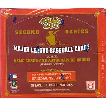 2002 Topps T-206 Series 2 Baseball Hobby Box