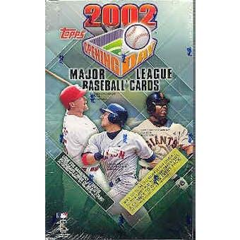 2002 Topps Opening Day Baseball Hobby Box
