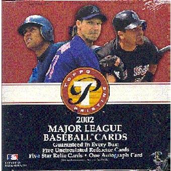 2002 Topps Pristine Baseball Hobby Box
