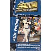 2002 Topps Stadium Club Relic Edition Baseball 24 Pack Box (Reed Buy)