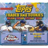 2002 Topps Chrome Traded & Rookies Baseball Jumbo Box (Reed Buy)