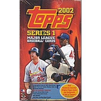 2002 Topps Series 1 Baseball Hobby Box