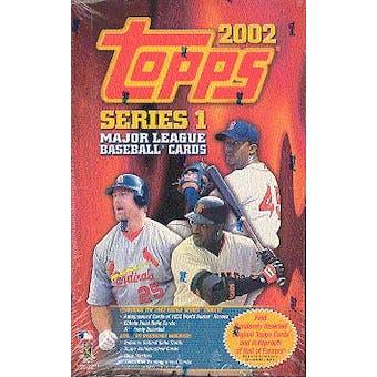 2002 Topps Series 1 Baseball 36 Pack Box