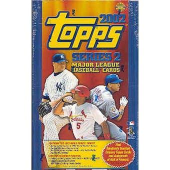 2002 Topps Series 2 Baseball Jumbo Box
