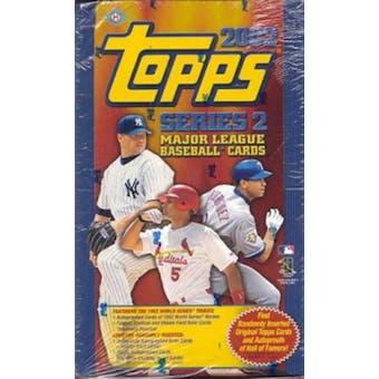 2002 Topps Series 2 Baseball Hobby Box