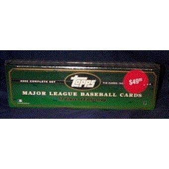 2002 Topps Baseball Retail Factory Set (Box) (Green)