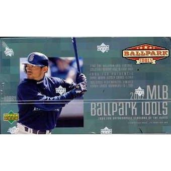 2002 Upper Deck BallPark Idols Baseball Hobby Box
