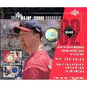 2002 Upper Deck Diamond Connection Baseball Hobby Box (Reed Buy)