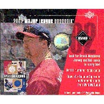 2002 Upper Deck Diamond Connection Baseball Hobby Box