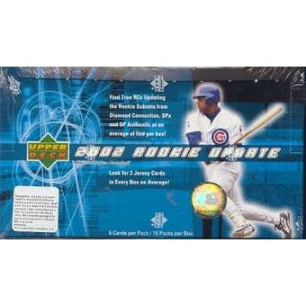 2002 Upper Deck Rookie Update Baseball Hobby Box